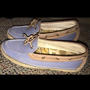 Sperry Top Sider Largo Blue boat shoe loafers